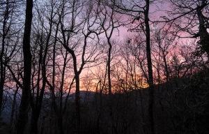 Sunset at Carter Gap